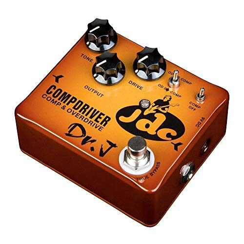 JOYO Dr.J Series JDC Compressor Overdrive Guitar Effects Pedal Signature Model