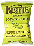 kettle chip pepperoncini - Kettle Brand Potato Chips, Pepperoncini, 2-Ounce Bags, (12 Count)