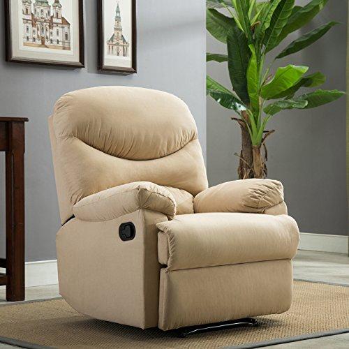 Belleze Recliner Armchair Backrest Microfiber