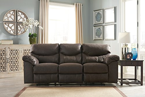 Signature Design by Ashley 3380387 Boxberg Power Reclining Sofa Teak