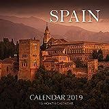 Spain Calendar 2019: 16 Month Calendar