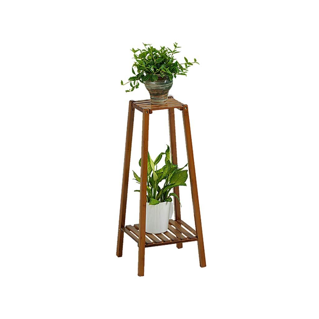 HChj Supporto per Vaso Multi-Strato in bambù