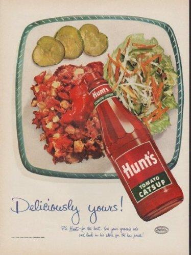1952 Hunt's Tomato Catsup Ad