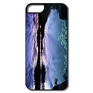 Customize Movies Perfect-Fit Calm Dusk IPhone 5/5s Case For Birthday Gift