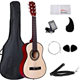 Image of ADM 30 Inch Starter Acoustic Beginner Guitar with Carrying Bag & Accessories, Classical Guitar Starter Kits, Natural