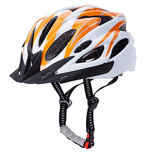 CCTRO Adult Cycling Bike Helmet, Eco-Friendly Adjustable Trinity Men Women Mountain Bicycle Road Bike Helmet Safety (Bike Helmet Safety)