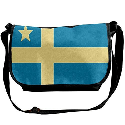 (Futong Huaxia Flag Of Delaware Travel Messenger Bags Casual Handbag School Shoulder Bag Crossbody Bag Unisex Sling Bag)