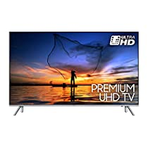 "Samsung UE55MU7000 Smart TV 4K Ultra HD Wi-Fi, 55"", LED, PQI, DVB-T2, Argento"