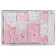 Big Oshi 15 Piece Layette Gift Set, Pink