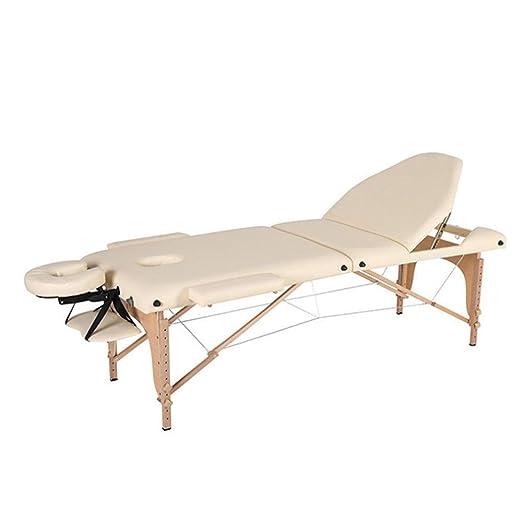 Mesa de Masaje Portátil 3 Sección portátil del vector del masaje ...