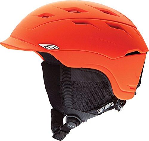 Smith Optics Variance Adult Ski Snowmobile Helmet, Matte Neon Orange, Large
