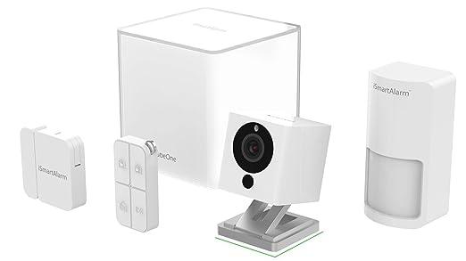 iSmart Alarm IHISA2G Sistema de Seguridad para el hogar, Blanco