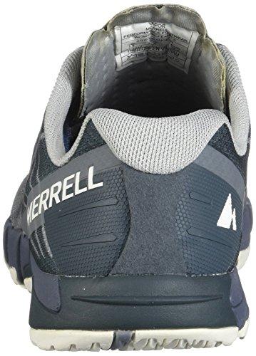 Mujer Flex Access Para Zapatillas Merrell Gris Running De Bare vapor AEqZU0