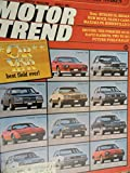 1982 Pontiac Bonneville / Datsun Maxima / Buick Skyhawk / Subaru GL Sedan / BMW 745i Road Test