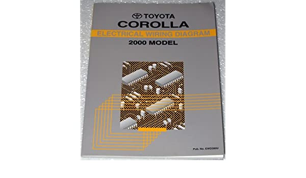 2000 toyota corolla electrical wiring diagrams zze110 series 2000 toyota corolla electrical wiring diagrams zze110 series toyota motor corporation amazon com books