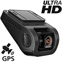 Pruveeo 212Q Dash Cam 2160P Ultra Full HD with WiFi, Dash Camera for Cars with OmniVision 4689 Video Sensor