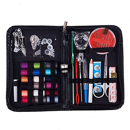 Sewing Kit, Aqeely Handy Portable Sewing Kit, Great for Home Sewing, Professional works, Training, Travel and Emergency.