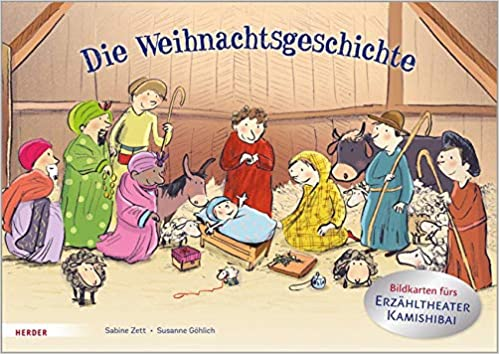 Die Weihnachtsgeschichte. Bildkarten