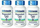 Life Extension MAGNESIUM 100 500 MG VEGETARIAN CAPSULES