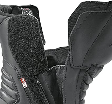 Black FORMA Motorcycle Boots Jasper Outdry WP CE Approved 38