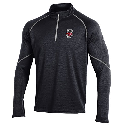 Twenty Transitional One Light (Under Armour NCAA Wisconsin Badgers Men's Lightweight Golf 1/4 Zip, XX-Large, Black)