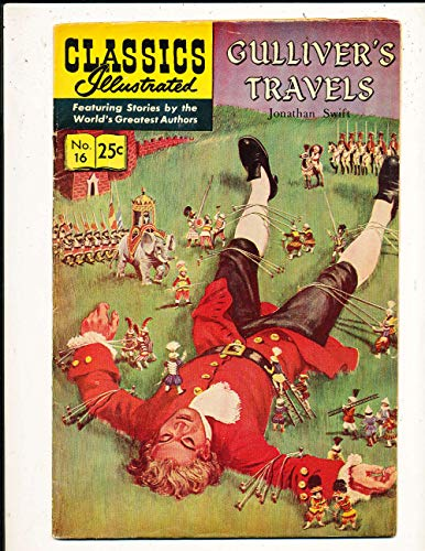 Classic Illustrated #16 Gulliver's Travels 1968 edition ex-em