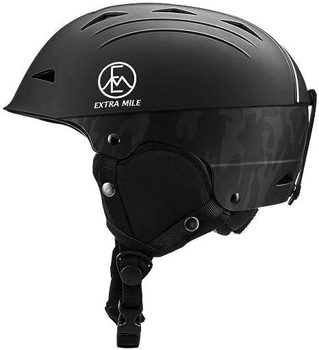 Casco da sci extra mile uomo e donna adulto, casco sportivo per adolescenti unisex, casco da neve regolabile B07YXLP1SQ
