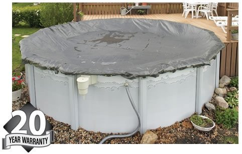 Arctic Armor WC9807 20 Year 30 Round Above Ground Swimming Pool Winter Covers