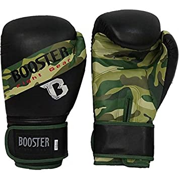 MMA Muay Thai Kickboxen Booster Boxhandschuhe camo Boxing Gloves BT-Sparring