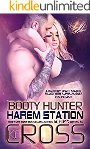 Booty Hunter: Sci-Fi Alien Romance (Harem Station Book 1) (English Edition)