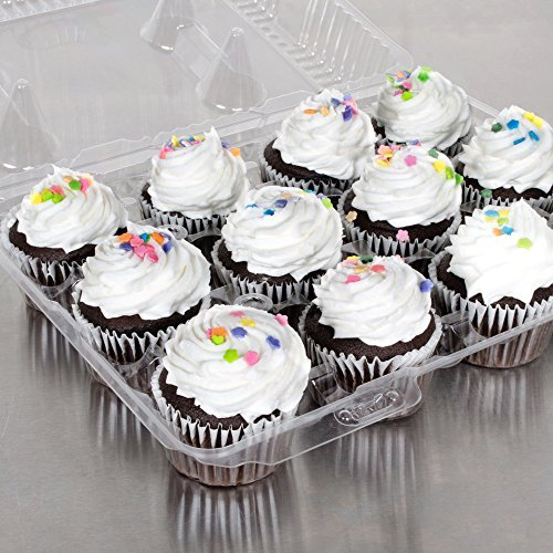 The Bakers Pantry Cupcake Boxes- Cupcake Containers 24 Pack Cupcake, Cupcake Box Container Holds 12 Cupcakes (24, 12-Compartment) by The Bakers Pantry (Image #9)