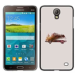 For Samsung Galaxy Mega 2 , S-type® Painting Drawing Vintage Model - Arte & diseño plástico duro Fundas Cover Cubre Hard Case Cover