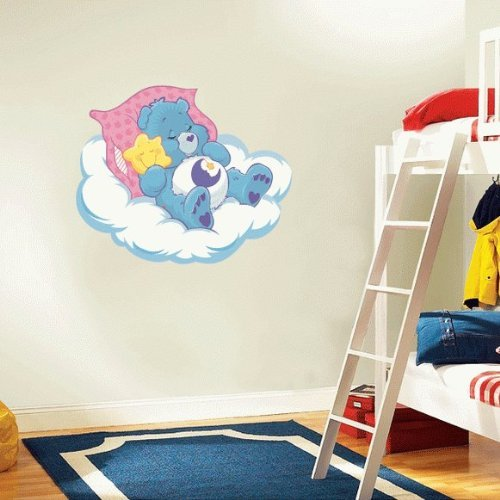 (Care Bears Bedtime Cartoon Wall Decal Sticker 21