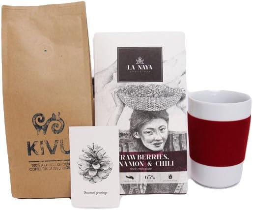 La caja de regalo de navidad del amigo de café (set de navidad de ...