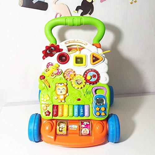 PGYZ Andador Juguete bebé educación temprana Rompecabezas Multi ...