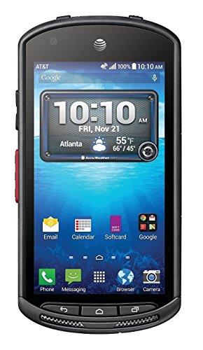 Kyocera DuraForce E6560 16GB Unlocked GSM 4G LTE Military Grade Smartphone w/ 8MP Camera - Black (Unlocked Caterpillar Cell Phone)