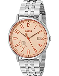 Fossil Womens ES3957 Vintage Muse Three-Hand Date Stainless Steel Watch