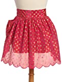 DII Pink with Gold Polka Dots Hostess Apron