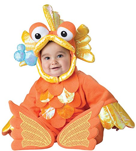 Giggly Goldfish Infant Toddler Costumes - InCharacter Costumes Baby's Giggly Goldfish Costume,