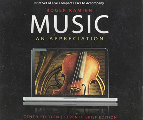 (Music: An Appreciation, 7th Brief Edition)