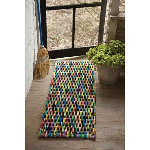 Kalalou-Recycled-Flip-Flop-Large-Rectangle-Mat