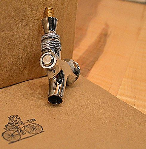 UPC 609015962329, K&B Draft Beer Faucet - Brass Lever