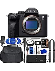 $3549 » Sony a7S III Mirrorless Full Frame Camera Bundle with Peak Design Strap, 64GB Memory Card, Water Resistant Bag, Monopod, Accessory Rollup, Eyecup +More (Premium Accessory Bundle) | Sony Alpha 7S III