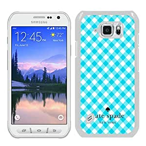 S6 Active case,Kate Spade 26 White Samsung Galaxy S6 Active cover
