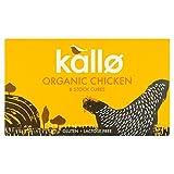 Kallo Organic Chicken Stock Cubes - 8 x 11g (0.19lbs)