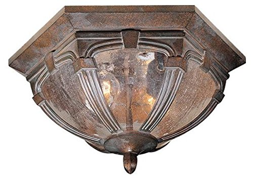 Cheap Vaxcel OF38713RBZ Essex 13-Inch Outdoor Ceiling Light, Royal Bronze