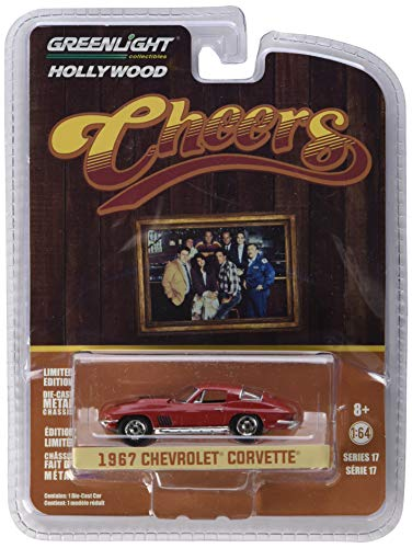 Greenlight 1:64 Hollywood Series 17 - Cheers (1982-93 Tv Series) - Sam's 1967 Chevrolet Corvette - Diecast Car Manufacturers