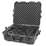 Nanuk 945-DJI37 Waterproof Hard Case with Foam Insert for DJI_Phantom 3 - Graphite (OBSOLETE)