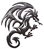 Cheap Dragon Metal Wall Hanging Artwork, Unique Original Art from Haiti, 20.5″ X 15″