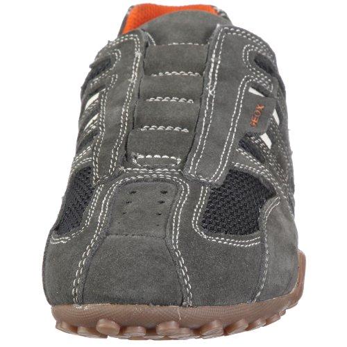 Geox Grey Sneaker Dk uomo Off White rBrfnU0